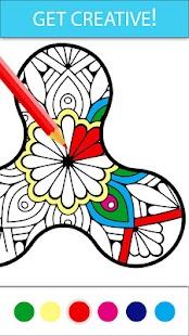 Coloring Book - Fidget Spinner - náhled