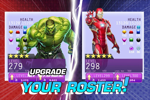 MARVEL Puzzle Quest: Join the Super Hero Battle! screenshot 7
