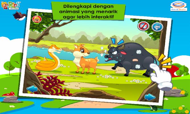 Cerita Anak: Kancil, Kerbau dan Ular - screenshot