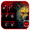 Scary Bloody Wolf Keyboard Theme icon