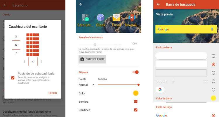 cambiar la apariencia de un móvil Android