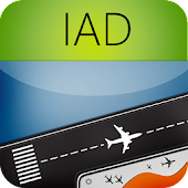 Washington Dulles Airport IAD Flight Tracker