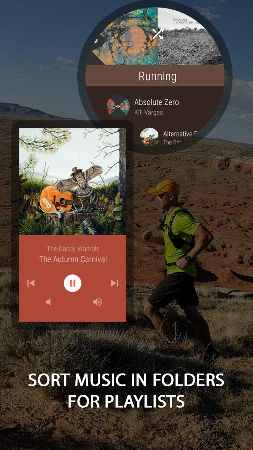 NavMusic - Wear Music Player- screenshot