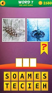2 Pics 1 Word: Mix Pics Puzzle App Latest Version Download For Android and iPhone 1