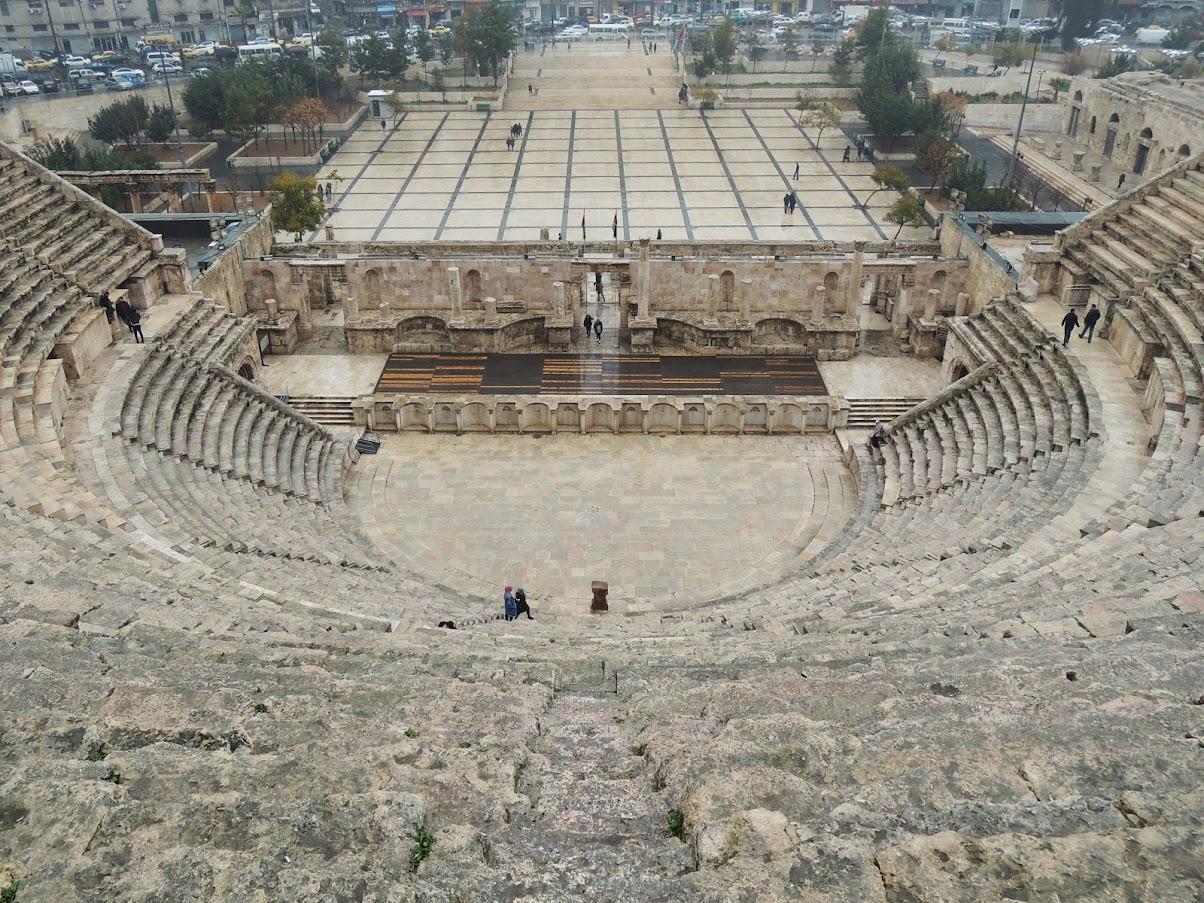 Teatr Rzymski Amman
