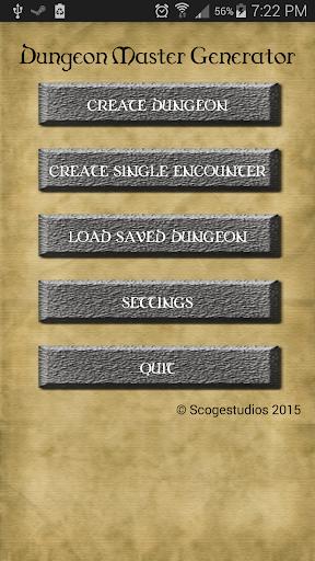 Dungeon Master 3.5 Generator