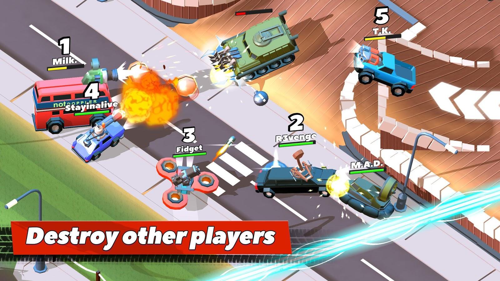 Crash of Cars– captură de ecran