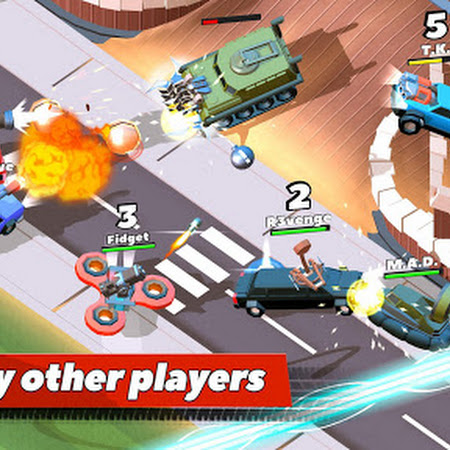 Crash of Cars v1.1.40 [Mod Money]