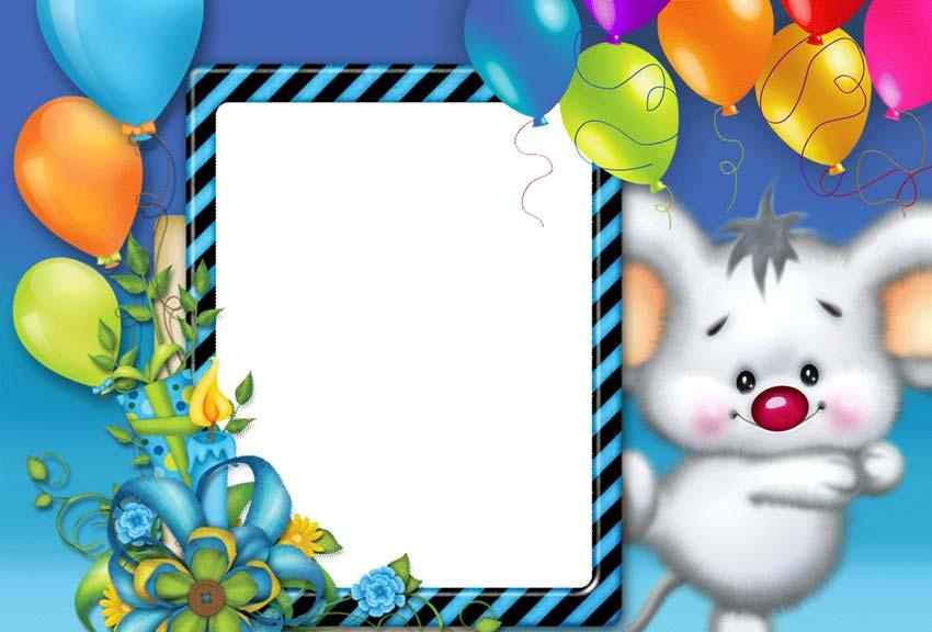 birthday photo frame editor screenshot