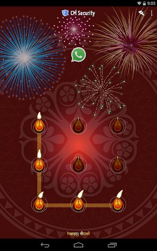 Happy Diwali AppLock Theme screenshot 9