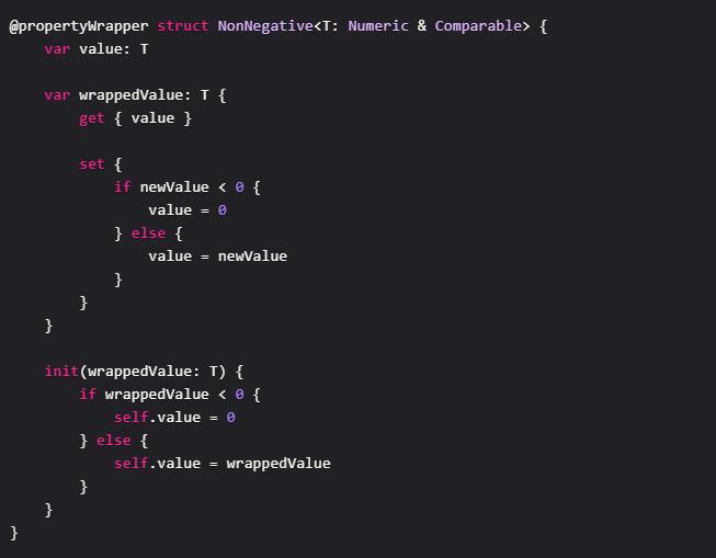 programming language features