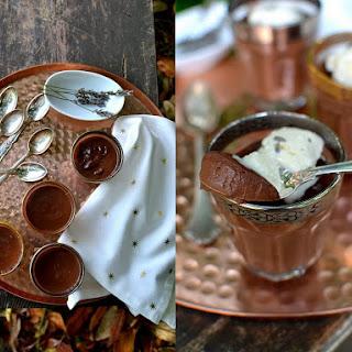Chocolate & Lavender Pots de Creme
