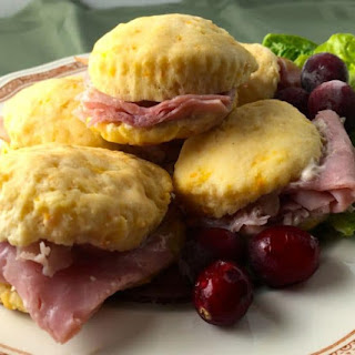 Sweet Potato Biscuits with Cranberry Aioli Recipe