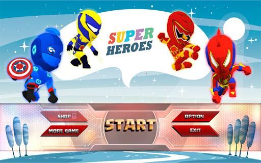 Super Heroes Fighting  captures d'écran 1