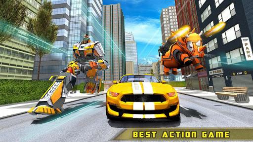 Rhino Robot Car transforming games u2013 City battle filehippodl screenshot 16
