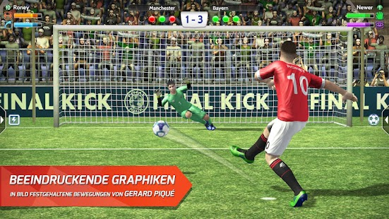 Final Kick: Online Fußball Screenshot