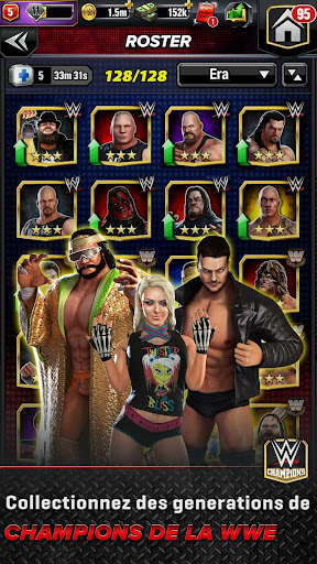 WWE Champions - Jeu de rôle et puzzle gratuit  captures d'écran 3