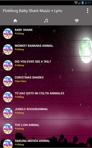 Download Baby Shark Pinkfong Song Lyric Google Play