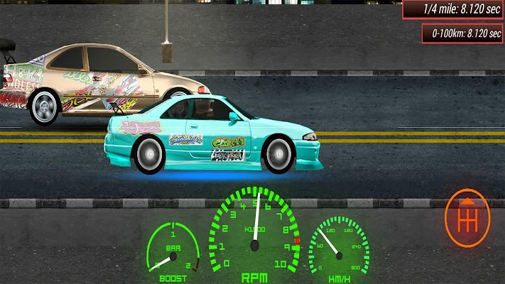 Drag X Racing - screenshot
