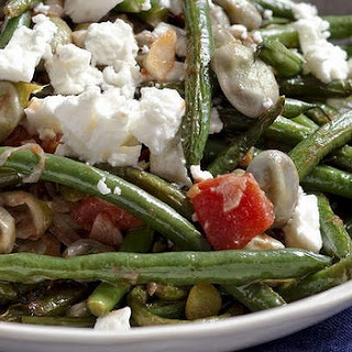 Greek Olive Oil Beans With Feta