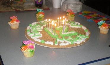 Photo: Miles' Birthday Cookie