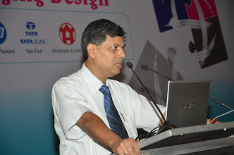 Photo: Debabrata Deb, Director, Future Formats introducing the esteemed speakers at the Conclave