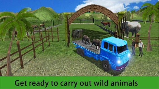 Zoo Animal Transport Truck 3D- screenshot thumbnail