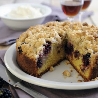 Two Fruit Crumble Sponge