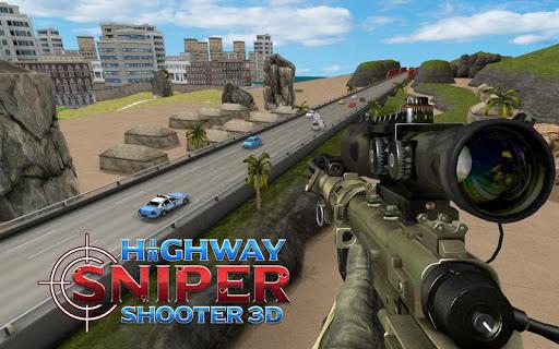 Highway Sniper 3D Shooter: Free Shooting Game  captures d'écran 2