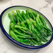 K6. Stir Fried Chinese Broccoli with Ginger Sauce