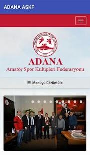 ADANA ASKF - náhled
