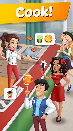 Cooking Diaryu00ae: Best Tasty Restaurant & Cafe Game apkslow screenshots 1