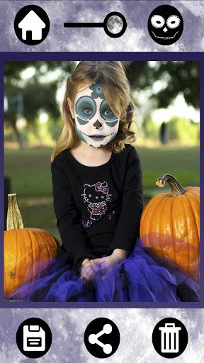 メキシコの頭蓋骨ハロウィーン