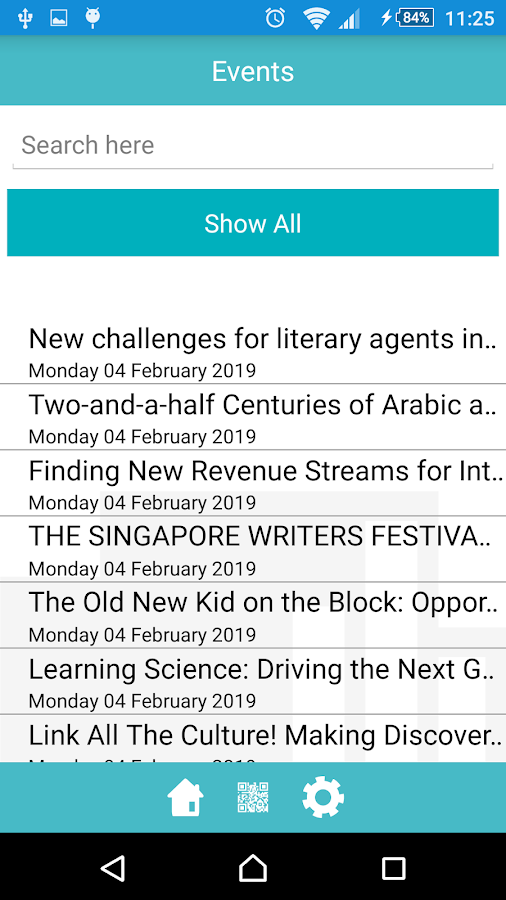 ADIBF- screenshot