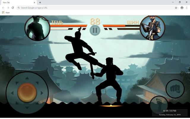 Shadow Fight 2 New Tab Theme