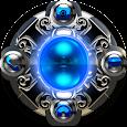 GO Locker Theme Blue Dragon icon
