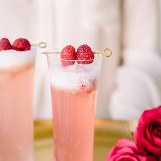 Raspberry Rose Cocktail.