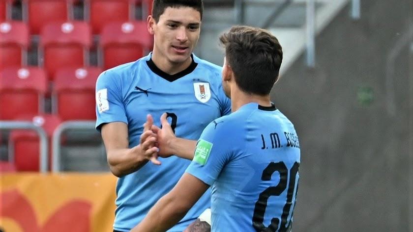 Darwin regresará a Almería sin competir con Uruguay.