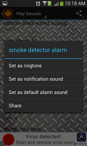 Very Loud Alarm Clock Sounds Screenshot