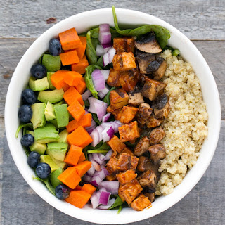 Vegan BBQ 'Chicken' Chopped Salad