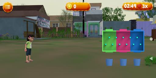 Lempar Bola Riska dan Gembul screenshot 6