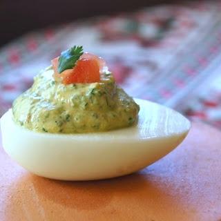 Cilantro Deviled Eggs Recipes.