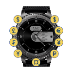 Currency Clock for Gear S2/S3 Icon