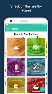 Diabetic Diet Recipes : Control Diabetes & Sugar Screenshot