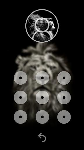 Lion King CM Locker Cool Theme screenshot 3