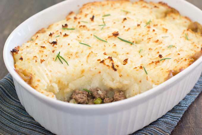 Lamb Shepherd's Pie