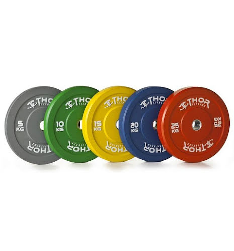 Thor Fitness Bumper Disc Colored - 5kg