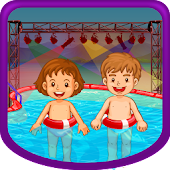 Kids Swimming Pool Party