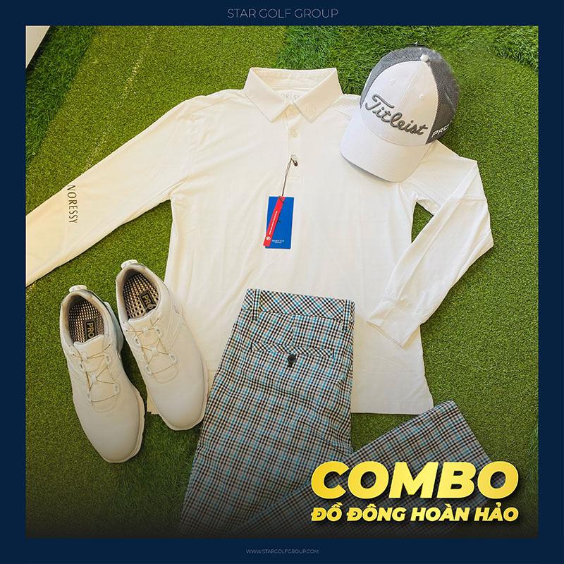 Thời trang Golf thanh lịch và lịch sự đến từ thương hiệu thời trang Golf Noressy