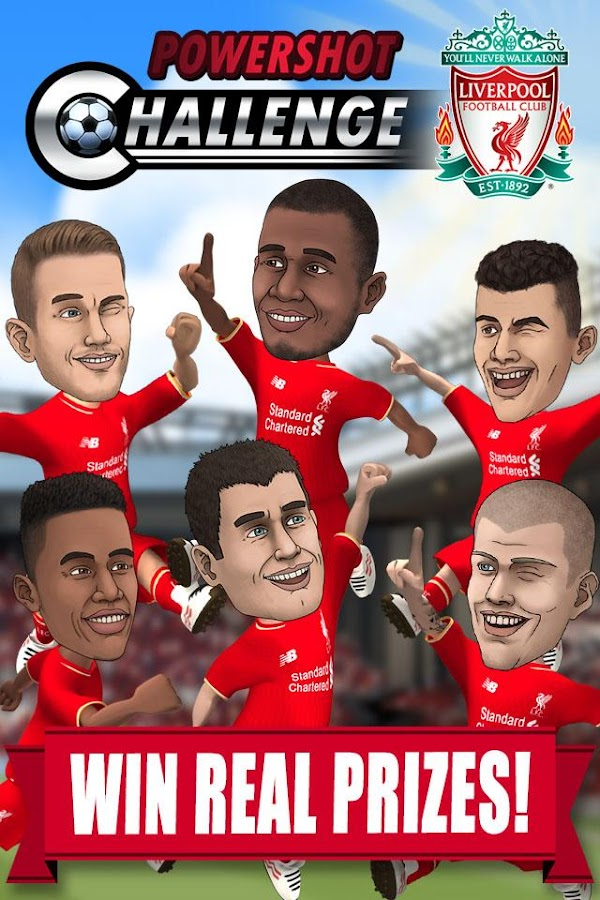 Liverpool FC Powershot Chall.- screenshot